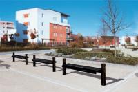 Parková lavička - ocel MM332626