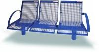 Parková lavička - ocel MM700222