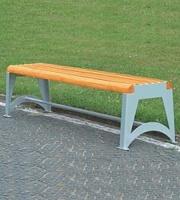 Parková lavička - ocel-dřevo MM700191