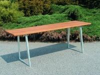 Parková lavička - ocel-dřevo MM700231