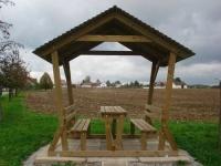 Piknikový stůl - dřevo MM700108