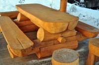 Piknikový stůl - dřevo MM700242