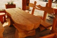 Piknikový stůl - dřevo MM700243