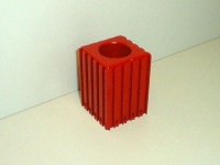 Plastové lůžko CNC nástroje HSK40