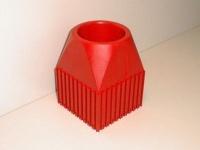 Plastové lůžko CNC nástroje ISO50