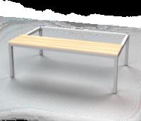 Předlavička - sedák: smrkové latě PL 120 D