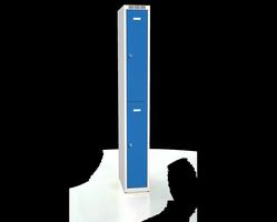 Šatní boxy - dvouplášťové dveře A2M 25 1 2 A