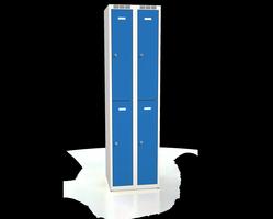 Šatní boxy - dvouplášťové dveře A2M 25 2 2 A