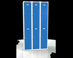 Šatní boxy - jednoplášťové dveře L2M 30 3 2 A