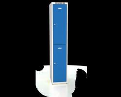 Šatní boxy - jednoplášťové dveře L2M 35 1 2 A