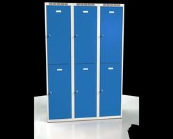 Šatní boxy - jednoplášťové dveře L2M 40 3 2 A
