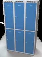 Šatní boxy - jednoplášťové dveře L3M 35 3 2 A