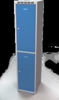 Šatní boxy - jednoplášťové dveře L3M 40 1 2 A