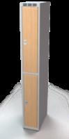 Šatní boxy - lamino dveře D2M 25 1 2 A