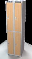 Šatní boxy - lamino dveře D2M 25 2 2 A