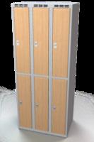Šatní boxy - lamino dveře D2M 25 3 2 A