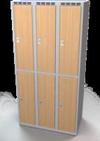 Šatní boxy - lamino dveře D2M 30 3 2 A