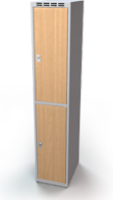 Šatní boxy - lamino dveře D2M 35 1 2 A