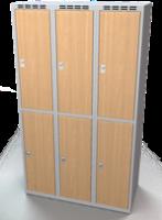 Šatní boxy - lamino dveře D2M 35 3 2 A