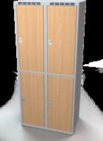 Šatní boxy - lamino dveře D2M 40 2 2 A