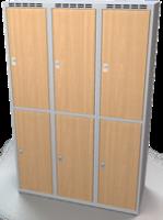 Šatní boxy - lamino dveře D2M 40 3 2 A