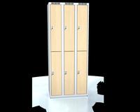 Šatní boxy - lamino dveře D3M 25 3 2 A