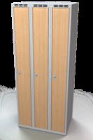 Šatní skříň - lamino dveře AM 25 3 1 S DD
