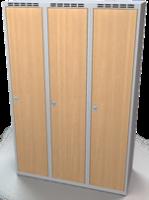 Šatní skříň - lamino dveře AM 40 3 1 S DD