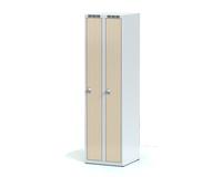 Šatní skříňka Aldera - lamino dveře, šířka / počet oddělení: 250 mm / 2