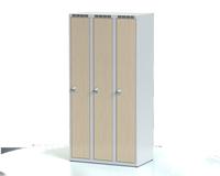 Šatní skříňka Aldera - lamino dveře, šířka / počet oddělení: 300 mm / 3