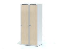 Šatní skříňka Aldera - lamino dveře, šířka / počet oddělení: 400 mm / 2