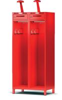 Šatní skříň pro hasiče H1FF 40 2 B