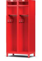 Šatní skříň pro hasiče H1GF 40 2 B
