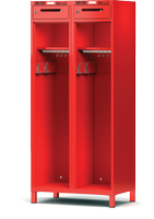Šatní skříň pro hasiče H1GF 40 2 C