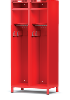 Šatní skříň pro hasiče H1GF 40 3 B