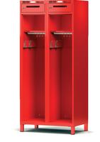 Šatní skříň pro hasiče H1GF 40 3 C