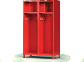 Šatní skříň pro hasiče H1GF 55 2 P