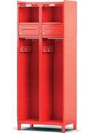Šatní skříň pro hasiče H1OF 40 1 B