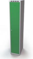 Šatní skříňky - dvouplášťové dveře A1M 35 1 1 S