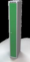 Šatní skříňka Aldop - dvouplášťové dveře, šířka / počet oddělení: 250 mm / 1