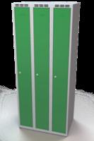 Šatní skříňka - jednoplášťové dveře, šířka / počet oddělení: 250 mm / 3