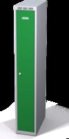 Šatní skříňka Aldop snížená - dvouplášťové dveře, šířka / počet oddělení: 250 mm / 1