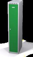Šatní skříňka Aldop snížená - dvouplášťové dveře, šířka / počet oddělení: 300 mm / 1