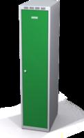 Šatní skříňka Aldop snížená - dvouplášťové dveře, šířka / počet oddělení: 350 mm / 1