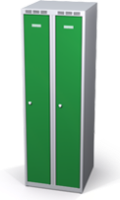 Šatní skříňky snížené - jednoplášťové dveře L1M 25 2 1 S V15