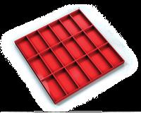 Sestavy plastových krabiček PPB S 3636 3