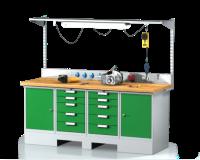 Sestavy pracovních stolů SESTAVA 11
