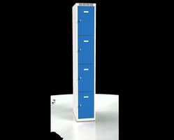Skříň s boxy - jednoplášťové dveře L2M 30 1 4 O