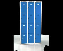 Skříň s boxy - jednoplášťové dveře L2M 30 3 4 O