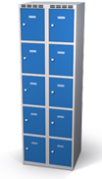 Skříň s boxy - jednoplášťové dveře L3M 30 2 5 O